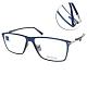ZEISS蔡司眼鏡 商務方框款/透藍 #ZS75005 C520 product thumbnail 1