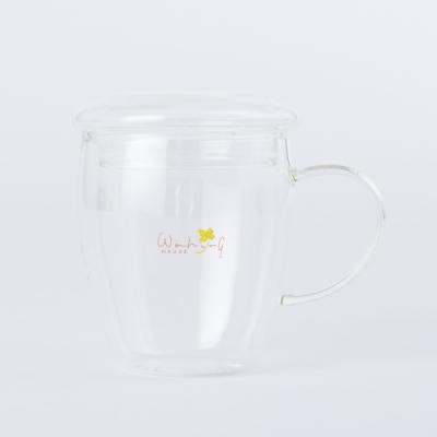 【限量商品*加購中-生活工場】Clover樂活玻璃附蓋馬克杯300ml