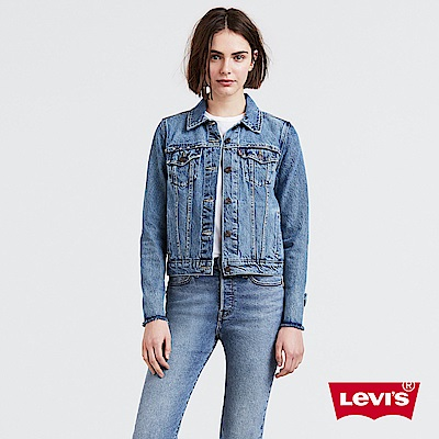 Levis 牛仔外套 女裝 袖口不收邊