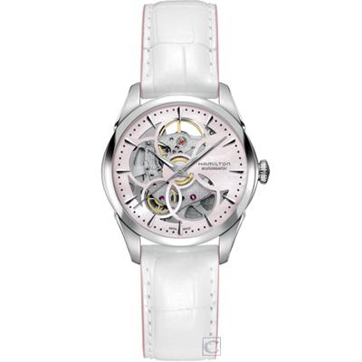 Hamilton JAZZMASTER 鏤空機械腕錶(H32405871)