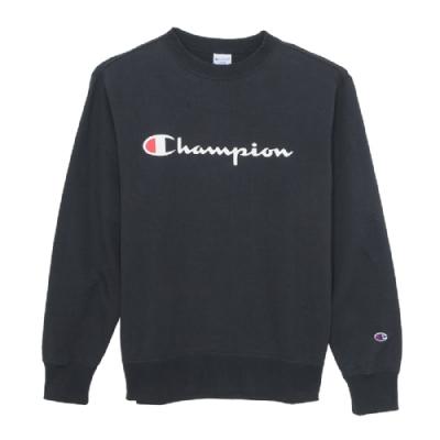 Champion Basic Logo 經典款大學Tee 深藍
