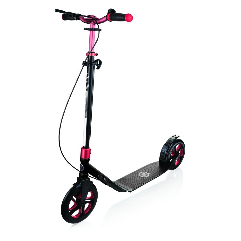 Globber 哥輪步 成人摺疊滑板車 NL 230-電鍍紅