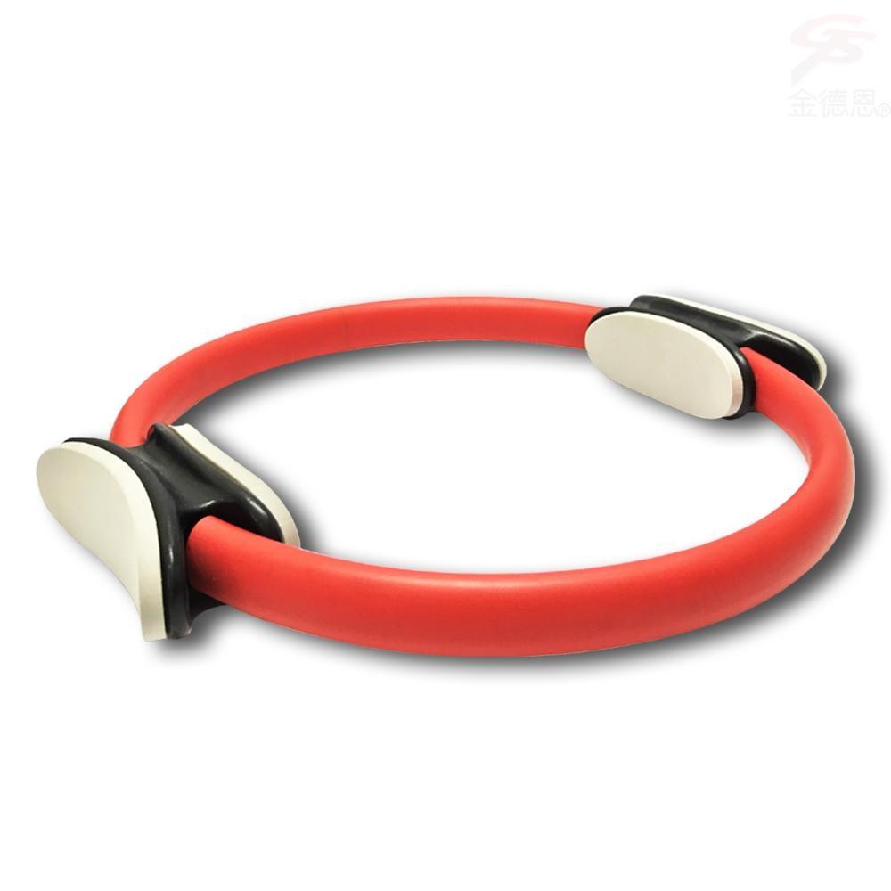 金德恩 台灣製造 一組多功能瑜珈健美彼拉提斯阻力環/瑜珈圈/美體圈/韻律圈