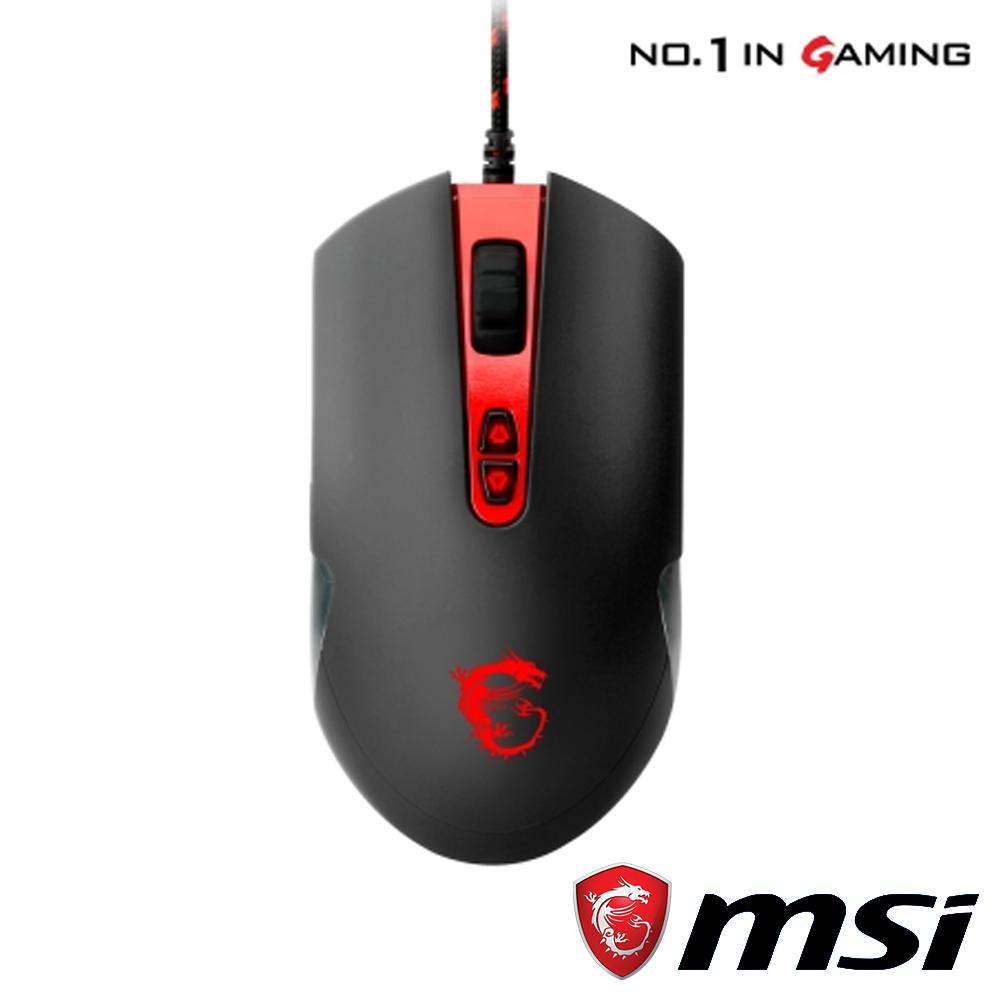 MSI 微星 DS100 玩家級雷射電競滑鼠 @ Y!購物