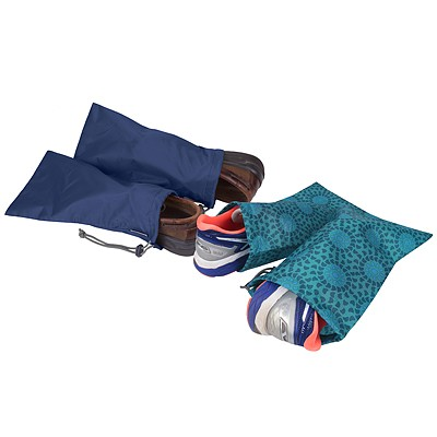 《TRAVELON》鞋子收納袋2對(藍)