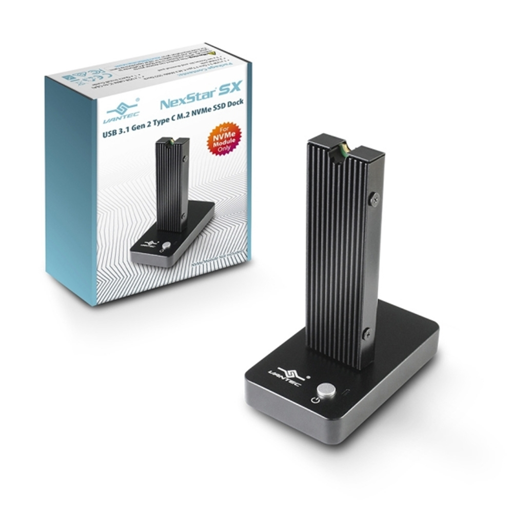 凡達克-M.2 PCIe SSD 外接座/Dock/ USB3.1 Gen 2/Type C/NVMe