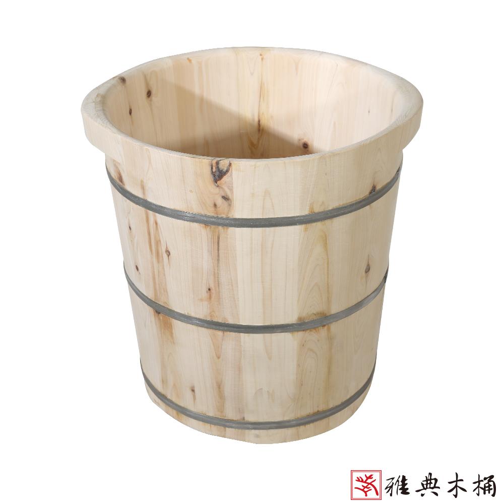 【雅典木桶】天然無毒芬多精 高39CM香柏木泡腳桶/足木桶