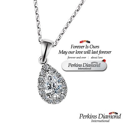 PERKINS 伯金仕-GIA angel s tear系列 0.30克拉鑽石項鍊