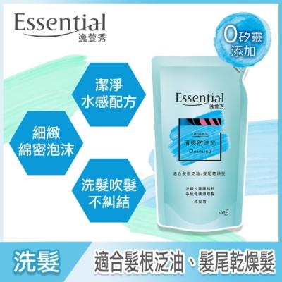 逸萱秀 清爽防油光洗髮精補充包 (550ml)