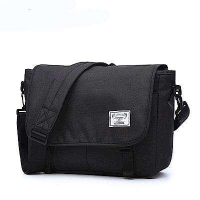 TG2502BK韓版郵差側背包黑色