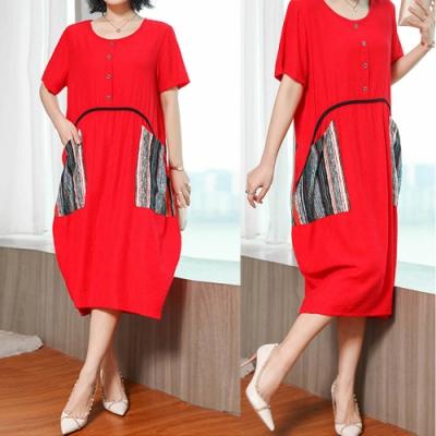 【韓國K.W.】女人話題好感風格高端洋裝-2色