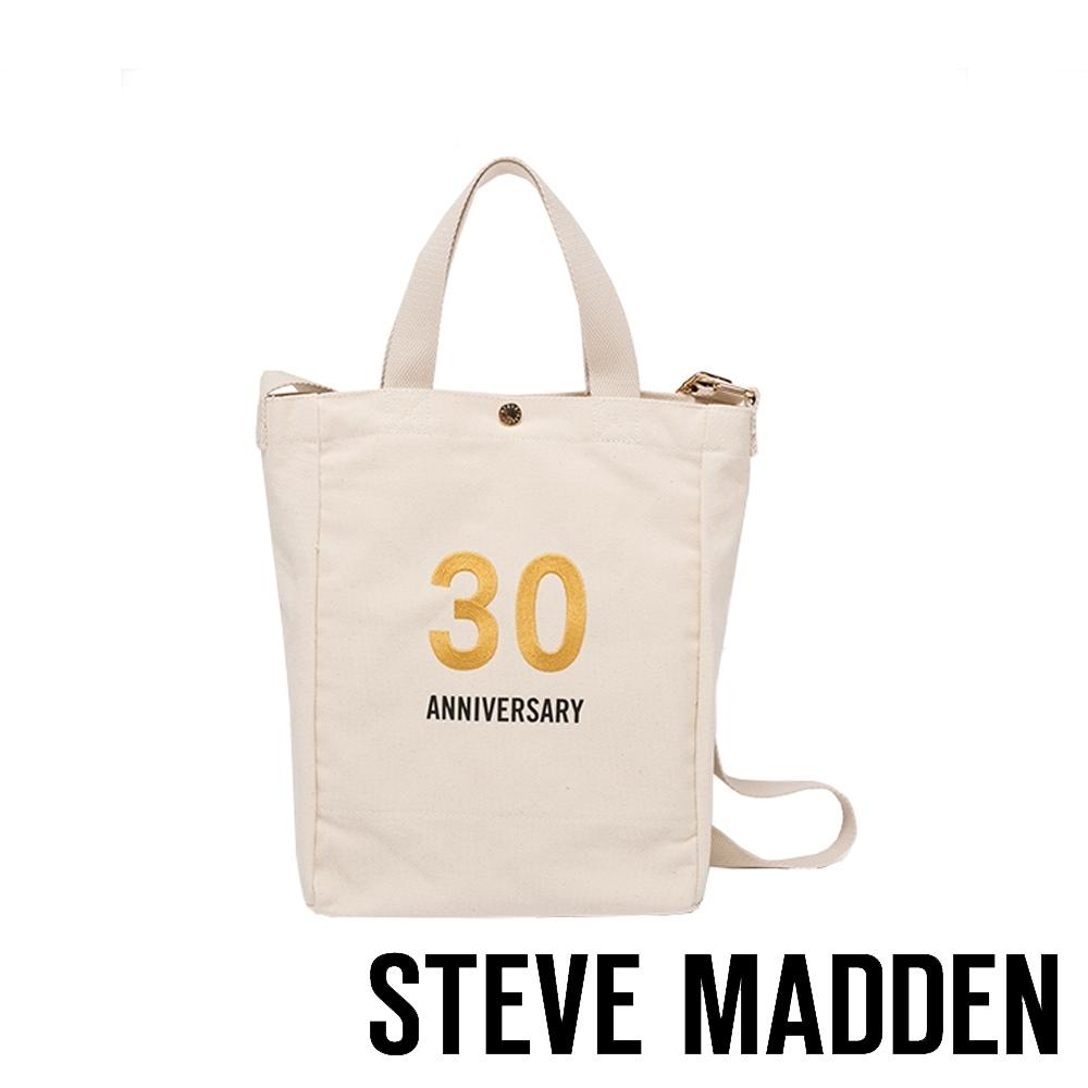 STEVE MADDEN - 時尚經典品牌30周年紀念帆布包 - 米色
