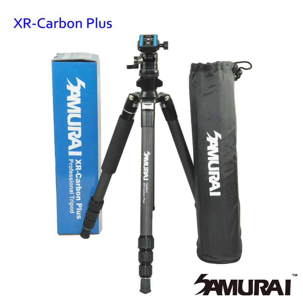 SAMURAI XR-Carbon Plus 反折碳纖維腳架 (可拆單腳)