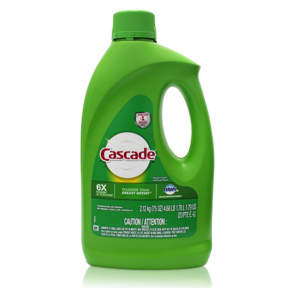 美國 Cascade 自動洗碗機專用-洗碗精(75oz/2.12kg)