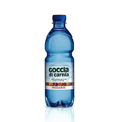 義大利Goccia di Carnia 高地卡尼天然氣泡礦泉水 瓶裝(500mlx24入)
