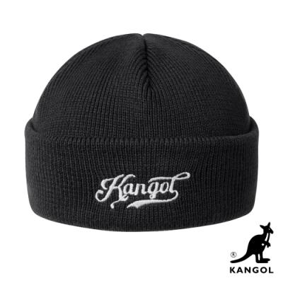 KANGOL-復古KG手寫字樣短頭顱帽