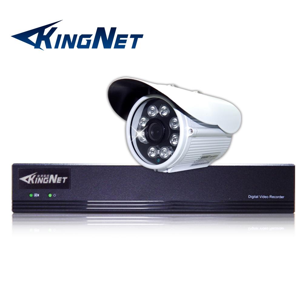監視器攝影機 KINGNET 4路4MP監控主機 + 1支 HD 1080P 防水槍型 @ Y!購物