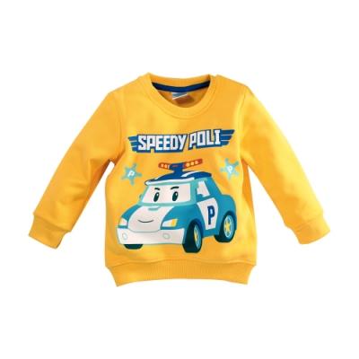 男童 POLI波力款刷毛長袖T恤 k61137 魔法Baby