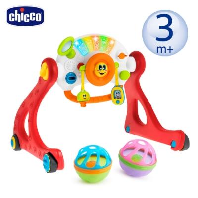 chicco-四合一音樂助步健力架+洗澡玩具戲水球