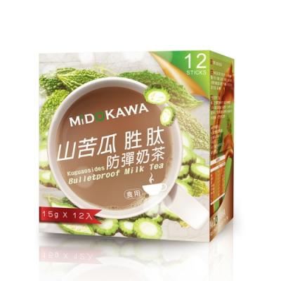 MIDOKAWA 美都川 山苦瓜胜肽奶茶(15G*12包/盒)