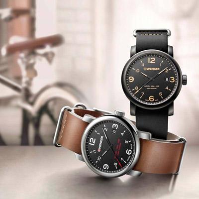 WENGER Urban 黑豹特遣 時尚腕錶(01.1041.135)41mm