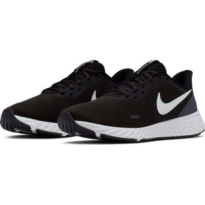 NIKE 慢跑鞋 運動 輕量 透氣 女 黑 BQ3207002 WMNS NIKE REVOLUTION 5