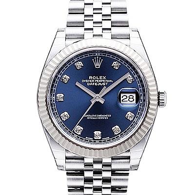 ROLEX 勞力士 Datejust 126334 日誌型機械腕錶x藍面鑽x41mm