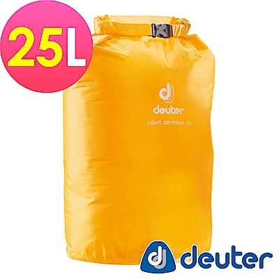 【ATUNAS 歐都納】德國DEUTER防水袋25L(39282黃/旅行/運動/收納)