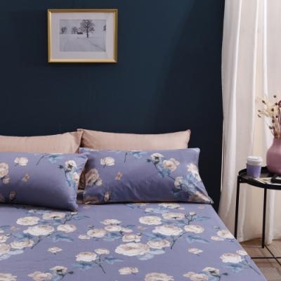 Jumendi喬曼帝 200織精梳純棉-雙人床包三件組(花戀香氛)