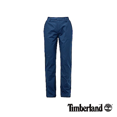 Timberland 男款藍色修身錐形長褲