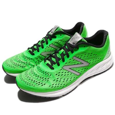 New Balance 慢跑鞋 Vazee Breathe 寬楦 男鞋 紐巴倫 輕量 透氣 路跑 避震 健身 綠 白 MBREAHG22E