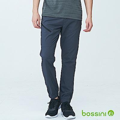 bossini男裝-休閒彈性束口褲02霧灰