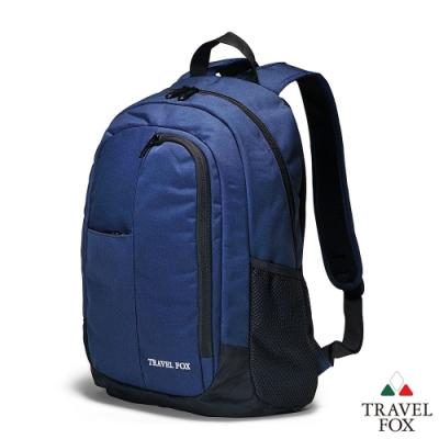 TRAVEL FOX 旅狐包-戶外極簡校園/電腦包-藍色