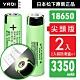 18650【日本松下原裝正品】充電式鋰單電池 3350mAh-2入-小尖頭凸版+收納防潮盒 product thumbnail 1
