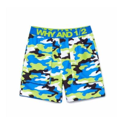 WHY AND 1/2 迷彩短褲 11Y~14Y以上