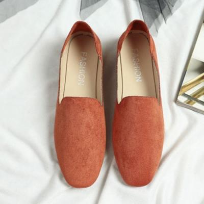 KEITH-WILL時尚鞋館 果色繽紛英倫風懶人鞋 豆沙
