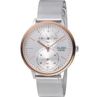 ALBA 生活時尚米蘭帶腕錶(A3A016X1)38mm