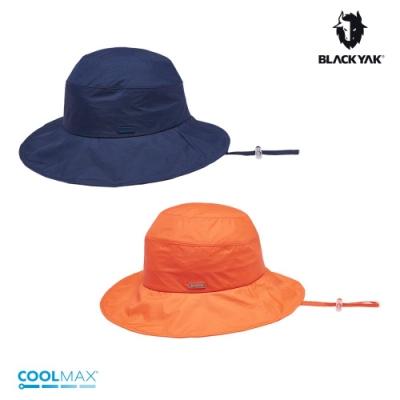 【BLACKYAK】女輕量漁夫帽[海軍藍/橘色]