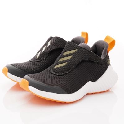 adidas童鞋 彈力運動鞋款 EEFO207黑(中大童段)