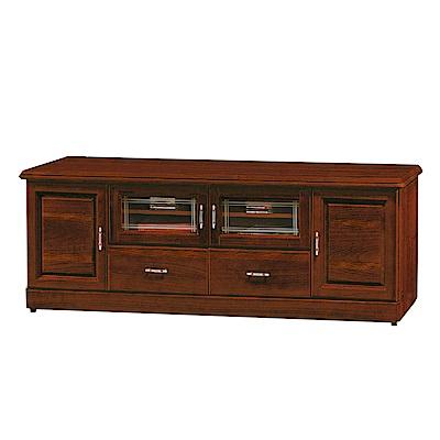 綠活居 莎曼珊6尺實木電視櫃/視聽櫃(二色可選)-180x45x64.5cm-免組