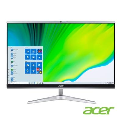 (福利品)Acer C24-1650 11代i3雙核 24型 AIO電腦(i3-1115G4/8G/512G SSD/WIN10H)