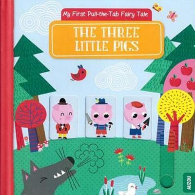 The Three Little Pigs 三隻小豬 推拉硬頁書