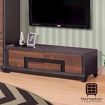 漢妮Hampton拜倫系列鐵刀4尺電視櫃-120x40x39cm