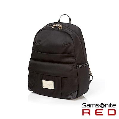 Samsonite RED LIGHTILO輕量流行設計款後背包S(黑)