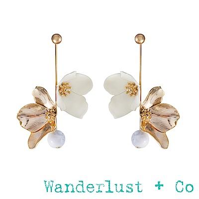 Wanderlust+Co 瑪雅女神垂墜耳環
