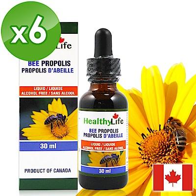 【Healthy Life加力活】蜂膠滴液Bee Propolis(30毫升*6瓶)