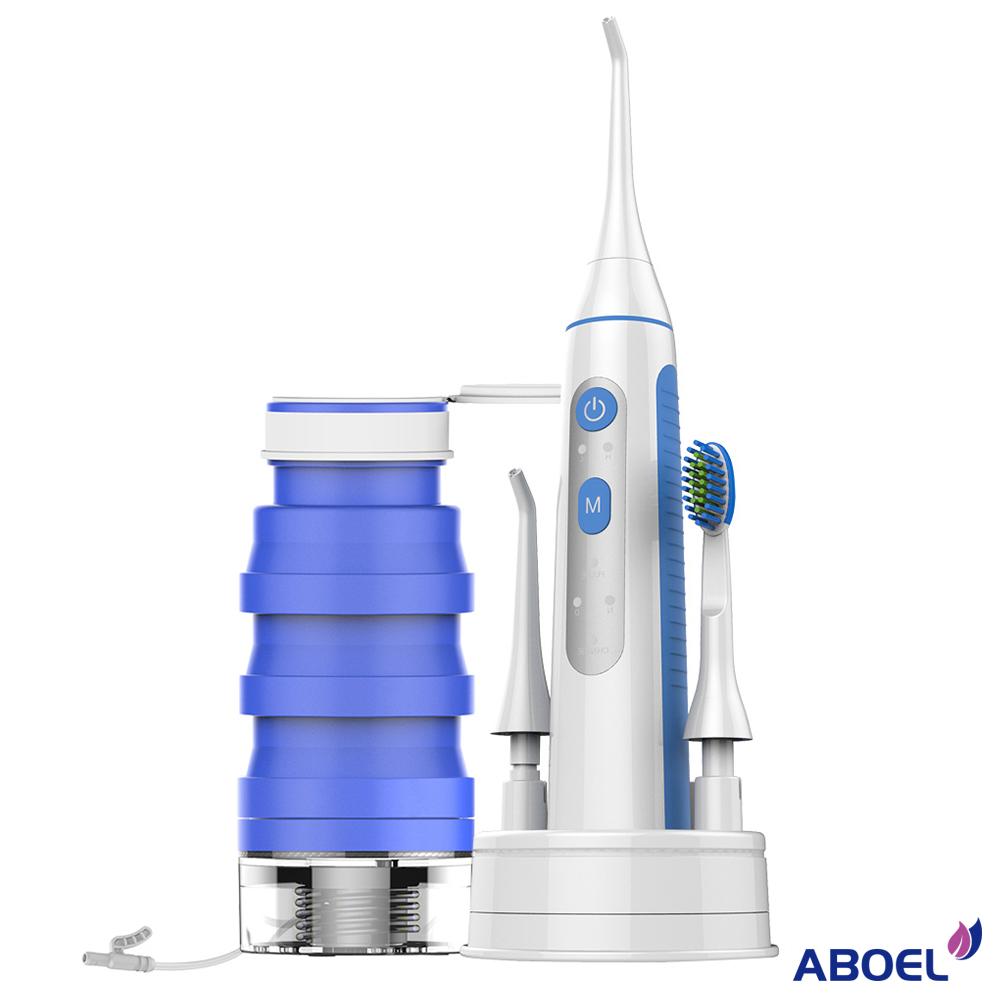 ABOEL 全能潔牙神器 可攜型電動牙刷沖牙機 (ABB880)