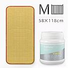媽咪小站-Mammy Shop 3D天然纖維柔藤墊M(中床專用)+多功能活氧去漬粉450g