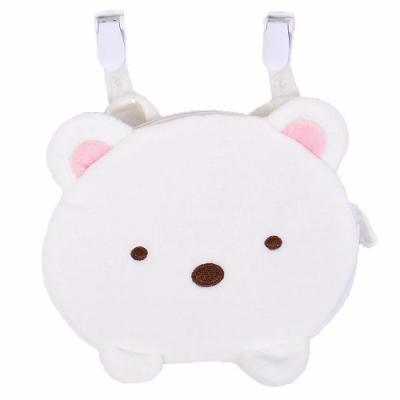 日本限定San-X角落生物造型小朋友包包角落小夥伴隨身小袋子SG0041貓咪蜥蝪白熊(附夾子夾衣服)