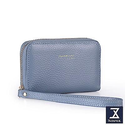 74盎司 Tender Lady真皮手掛零錢包[LN-752]水藍